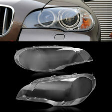 For 2008-2013 BMW X5 E70 330i Pair Right & Left Headlight Clear Lens Cover US
