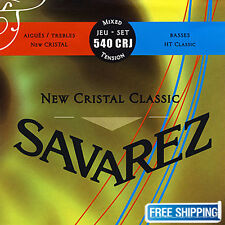 Savarez 540CRJ Guitar String Acoustic Trebles Cristal HT Classical Mixed Tension