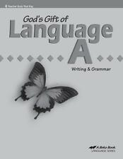 A Beka Language A Quiz and Test Key Third Edition - Fourth Grade