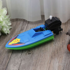 Creative Wind Up Clockwork Boat Ship Toys Play Water Bath Toy For Children