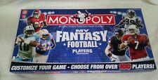 MY FANTASY FOOTBALL PLAYERS EDITION  2007 Parker Brothers Monopoly
