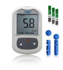 Blood Glucose Meter Starter Kit Sugar Monitor Tester Diabetic 50 Strips Freeship