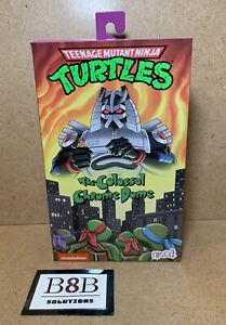 ✅ NECA Teenage Mutant Ninja Turtles TMNT The Colossal Chrome Dome   BRAND NEW  