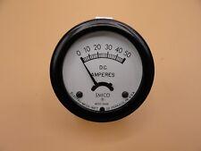 Analog Emico Panel Meter Dc Ammeter 0 50 Amps
