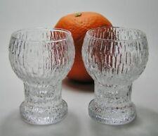 Iittala Vintage Original Crystal Scandinavian Art Glass