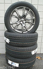 20 NEW JEEP GRAND CHEROKEE SRT8 STYLE HYPER SILVER FOUR WHEELS TIRES 9113