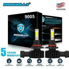 9005 9145 Led Headlight Kit 2200W 330000Lm High Low Fog Bulb Hb3 H10 6000K White