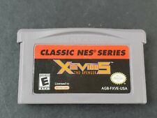 Xevious Classic NES Series Nintendo Game Boy Advance 2004 Authentic Game TESTED