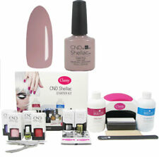 CND Shellac Field Fox Deluxe Nail Kit Choice of Lamp UV LED 48W/48W PRO FREE P&P
