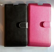 Book, wallet style PU leather flip phone case, cover to fit Sony Xperia T3