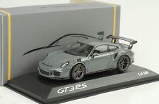 2015 Porsche 911 991 GT3 RS China grey 1:43 Minichamps Dealer