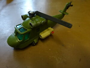 MATCHBOX BATTLE KINGS HELICOPTER K-118 - SEE PICS FOR CONDITION
