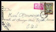GP GOLDPATH: DOMINICAN REPUBLIC COVER 1942 AIR MAIL _CV523_P18