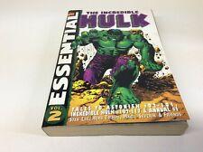 MARVEL COMICS ESSENTIAL THE INCREDIBLE HULK VOLUME 2 (MARVEL/#102-117/0918348)