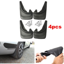 Universal Car Accessories Molded Splash Guards Mud Flaps 4pcs - Front & Rear