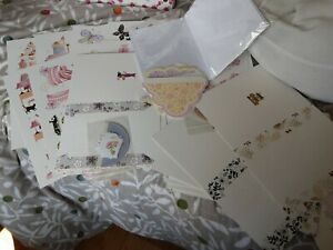 Create And Craft Luxury Decoupage Kit 20 Cards