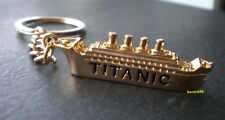 💥 RMS Titanic Keychain Gold Plated