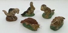 Wade Dinosaur Set #1 Complete Set of 5 Figurines Vintage 1993 Mint