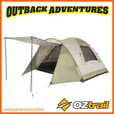 OZTRAIL TASMAN 6V DOME TENT FAMILY CAMPING 6 PERSON HIKING CAMP NEW 2016 MODEL