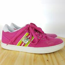 Coogi Womens Australia Lace Up Size 7.5 Pink Casual Shoe Walking