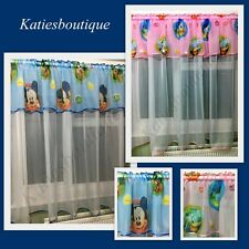 Children Kids  Ready Made Voile Net Curtains