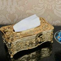 Retro Chic Tissue Box Cover Paper Napkin Holder Case Home Car Hotel Good Decor