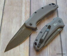 "KERSHAW ""LINK"" BLACK WASH SERIES SPRING ASSISTED POCKET KNIFE ""MADE IN USA"""