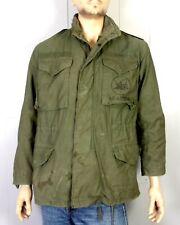 vtg Us Navy Post Vietnam 1980's era Seabees Field Jacket Og-107 Military S Reg