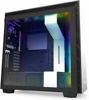 NZXT H710i White RGB ATX Mid Tower Tempered Glass Desktop Computer Case Grade B