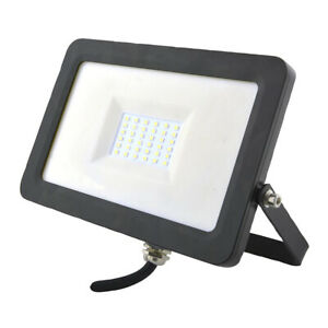Pro-Elec Floodlight LED 30W Flood Light for Outdoor & House Use IP65 Waterproof