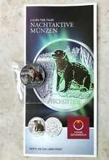 3 Euro Münze Fischotter Österreich 2019 Tiertaler in Münzkapsel + Folder