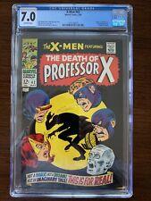 X-Men #42 CGC 7.0 (1968) Death of Professor X Grotesk appearance Key!