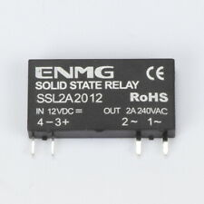 5 PCS Solid State Relay SSL2A2012 4 Pins DC-AC PCB SSR 12VDC In 240VAC 2A Out