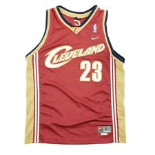 Vintage 2003 Nike Lebron James Cleveland Cavaliers Jersey YOUTH KID Large 14-16