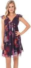 Buffalo David Bitton Rafaela Purple Floral Dress $129 Medium NWT!!!