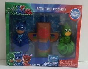 Disney Junior PJ Masks Bath Time Friends Super Strawberry Body Wash Gift Set