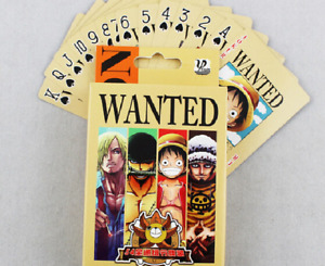 54Pc Japanese Anime One Piece Animation Gifts Poker Playing Cards