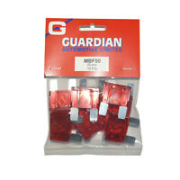 Maxi Blade Fuses 50 Amp 10 Pack WORKSHOPPLUS FREE DELIVERY