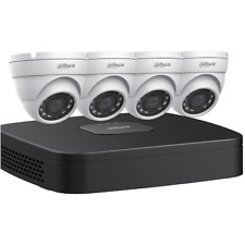 Dahua 4CH, 2TB 4K NVR PoE Bundle with 4-2.8mm 4MP IP67 IR Eyeball cams-#N444E42