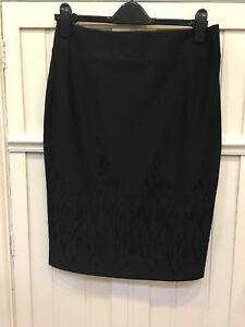 New Marks & Spencer M&S Smart Black Pencil Skirt Work Office 12 14 18