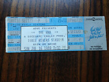 Concert Unused Ticket The Who Three Rivers Stadium Pittsburgh Pa Sun Jul 16 1989
