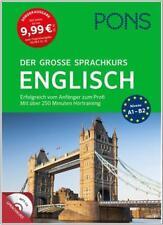 NEU: PONS Der große Sprachkurs ENGLISCH lernen für Anfänger & Wiedereinsteiger
