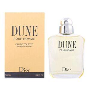 DUNE pour HOMME Christian Dior * 3.3/3.4 oz (100 ml) EDT Spray * NEW & SEALED