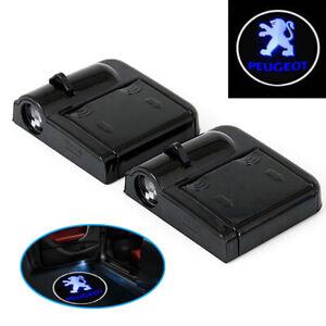 B30C 2 Stück Wireless Auto Tür Licht LED Car Willkommen Projector Logo für Auto