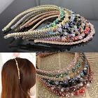 Femmes serre tête strass cristal Bandeau Barrette bande Accessoires cheveux