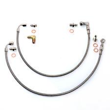 TRITDT Fits 300ZX Z32 w/ Stock Twin Garett T25 Journal Bearing Oil Feed Line Kit