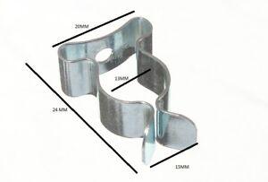 Clips Terry Ressort Outil Stockage 1.3cm 13mm BZP Paquet De 100