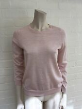 J. CREW Women's Pink Cashmere Crewneck Sweater Jumper Size M Medium