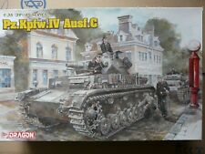 Maquette WWII 1/35 Dragon ref 6291 Pz.kpfw.iv Ausf.c
