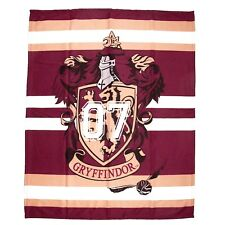 Harry Potter Muggles Fleece Blanket Gryffindor Crest Kids 100cm X 150cm
